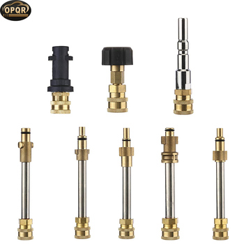 OPRQ High Pressure Gun Quick Release Adapter With 1/4'' Female Quick Connect Fit For Black Decker Lavor Nilfisk Pressure Washer 2018 high pressure washer foam gun kit for nilfisk quick connect professional pressure washer machine for car cleaning mowg005