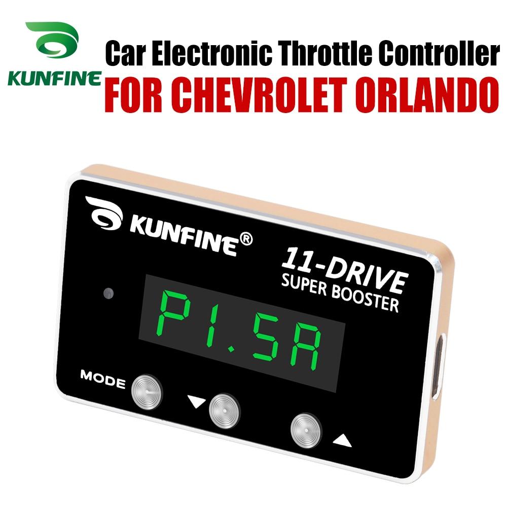 Kunfine Auto Elektronische Gasklep Controller Racing Gaspedaal Potent Booster Voor Chevrolet Orlando Tuning Onderdelen Accessoire