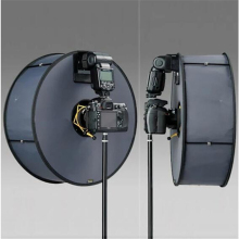 Кольцевой софтбокс SpeedLite софтбокс вспышка светильник стенд 45 см складное диффузорное кольцо скоростной светильник софтбокс для Canon Nikon скоростной светильник
