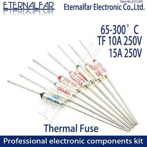 Thermal-Fuse Temperature 300C RY 15a 250v 280C 100C 185C 10A 240C 172C 192C 120C TF 216C