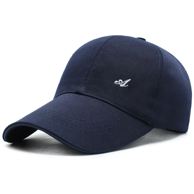 VICABO Cap Men's Baseball Cap Sports Anti-Sun Solid Color Protective Cap
