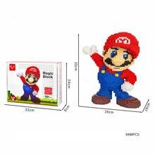 8498 шт Детский конструктор «Супер Марио»