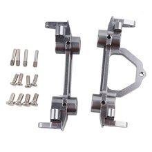 Front And Rear Bumper Mount Aluminum Alloy RC4WD D90 For 1/10 RC Crawler Axial SCX10 SCX0026 90022 90035 Hopup Parts цены онлайн