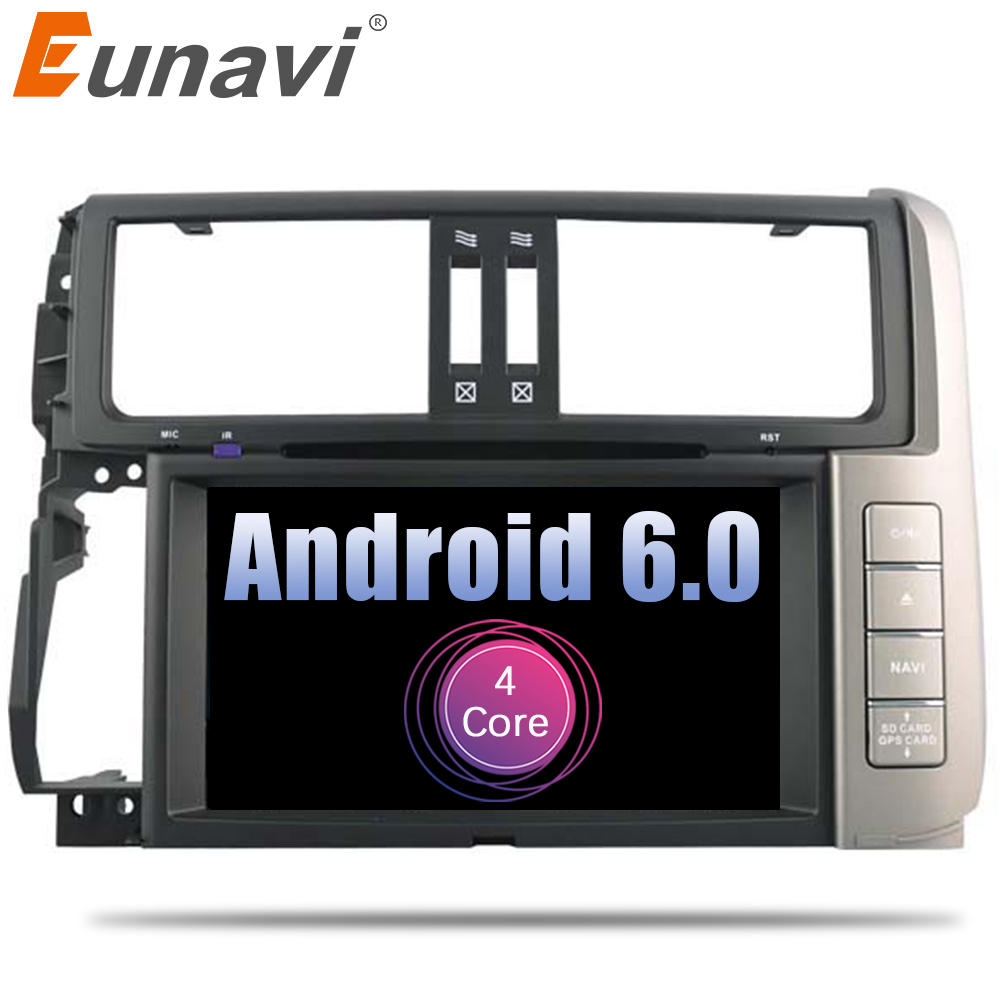 Eunavi Android 6.0 <font><b>2</b></font> <font><b>din</b></font> quad Core <font><b>CAR</b></font> DVD player GPS <font><b>radio</b></font> <font><b>For</b></font> <font><b>Toyota</b></font> <font><b>Prado</b></font> <font><b>150</b></font> <font><b>2010</b></font>-2013 <font><b>car</b></font> multmedia stereo audio wifi 4G BT image