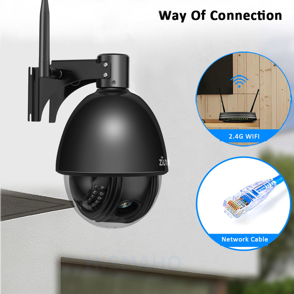 Image 3 - ZILNK 1080P Full HD PTZ Speed Dome IP Camera 5x Zoom Outdoor Waterproof CCTV WiFi Camera Mini Motion Detection ONVIF H.264-in Surveillance Cameras from Security & Protection
