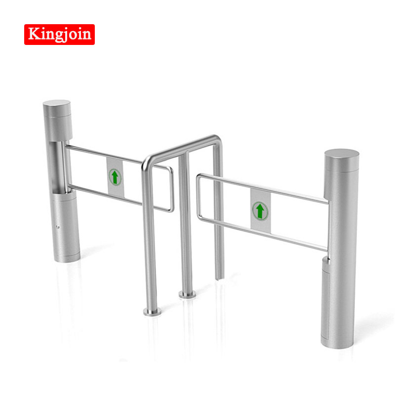 Swing Barrier / Swing Barrier Gate /swing Turnstiles,Fine Dual Swing Barrier For Access Control Shopping Mall Supermarket