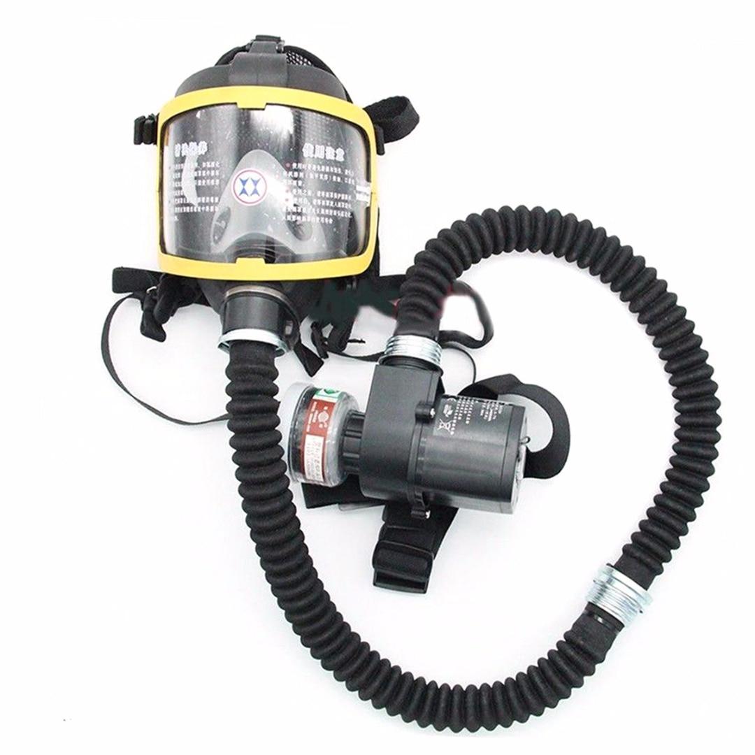 Электропитание, воздушная полная маска для лица, противогаз, постоянный поток, респиратор, система с перезарядкой, пылезащитный чехол для р...