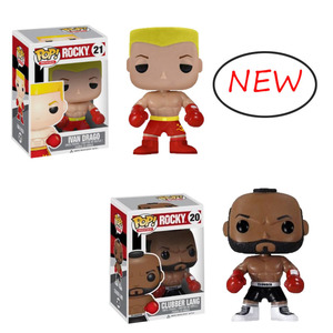 Funko pop ROCKY Ivan Drago 20# 21# Action Figure Toys PVC Collection model toy For Children Gift