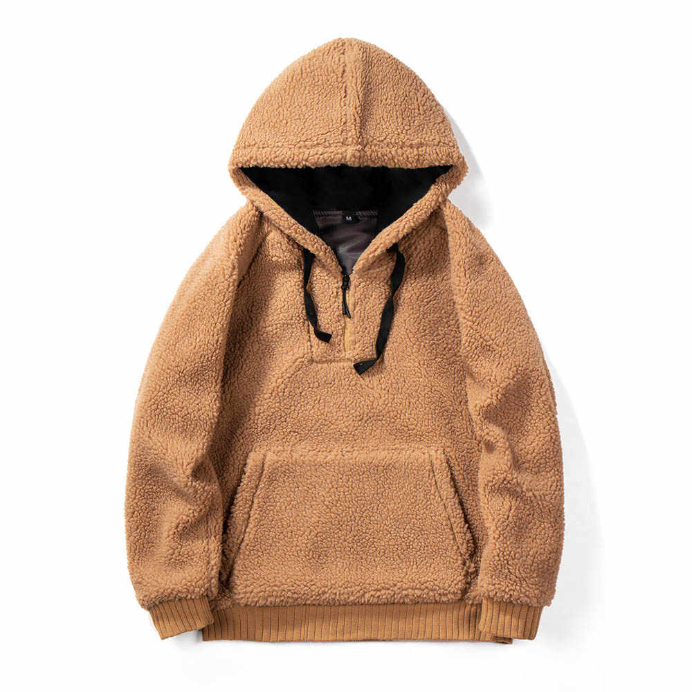Плюшевые толстовки мужские зимние пальто из искусственного меха женские теплые мягкие толстовки на молнии меховые куртки плюшевое Пальто Повседневная плюшевая верхняя одежда 2020