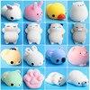 Mini Animals Cat Cute Kawaii Decompression Toys Mochi Squishy Animal Stress Relief Toys Mochi Animal Toys