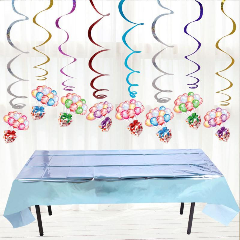 Disposable Party Glitter Table Cloth Birthday Rectangular Tablecloth Wedding Birthday Table Cloth Halloween Foil  tablecloth