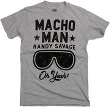 De Ripple Junction WWE hombre Macho Randy Savage Oh sí camiseta adulto