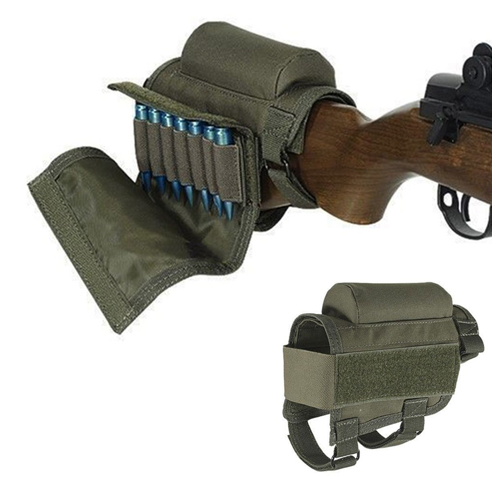Rifle Package Portable Adjustable Nylon Equipment Sniper Hunting Accessories Butt Stock Tactical Multi-Functional