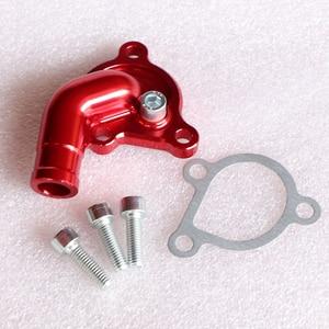 Image 5 - Motorcycle CNC Aluminum Alloy Water Pump Cover For 50 SX 2006 08 Pro JR LC 2002 05 PRO SR Water Pump Case New Arrivals
