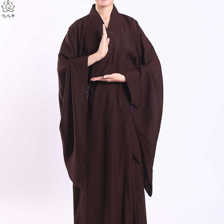 瞑想禅少林寺韓服中国の伝統的な衣類僧侶衣装仏教衣類僧のローブ道教チベット服