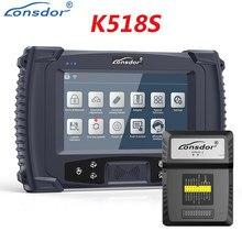 Lonsdor K518S programmeur de clé de voiture OBD2 avec fonction de Correction d'odomètre changement de KM outil de Diagnostic de voiture OBD2 outil de programmation de clé