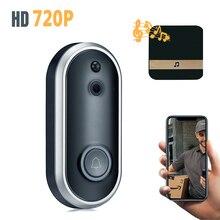 720P Video Doorbell Smart Wireless WiFi Security Door Bell Visual Recording Home Monitor Night Vision Intercom door phone