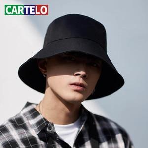 CARTELO Fashion Adult Men And Women Cap Outdoor Sun Hat Travel Casual Pot Bucket Hat Women Summer Beach Sun Floppy Hats Cap