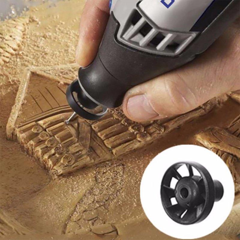 Пластиковые дующие пылевые гайки черный винт комплект Электрический поворотный вентилятор для 3000 шлифовальных машин пылеуловитель