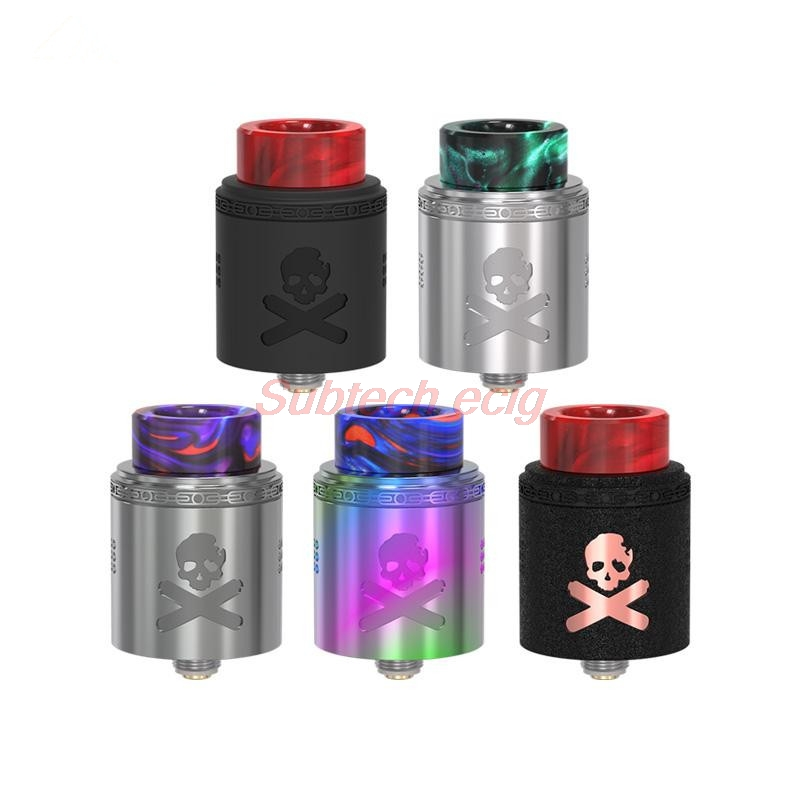Bonza V1.5 BF RDA 24mm Diameter With Enlarged Posts Screws & Plates Squonk Pin Supports Bottom Feeding Dual AFC System Vape Tank