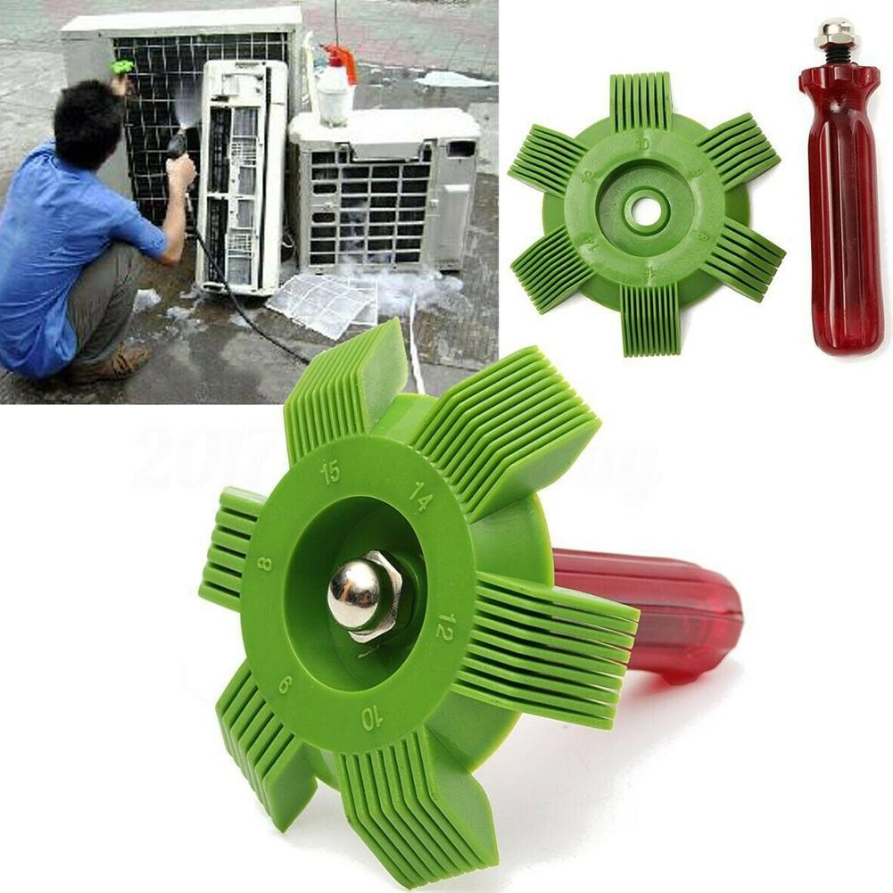 A/C AC Radiator Condenser Evaporator Fin Straightener Coil Comb Auto Air Conditioning Tool 2 Colors