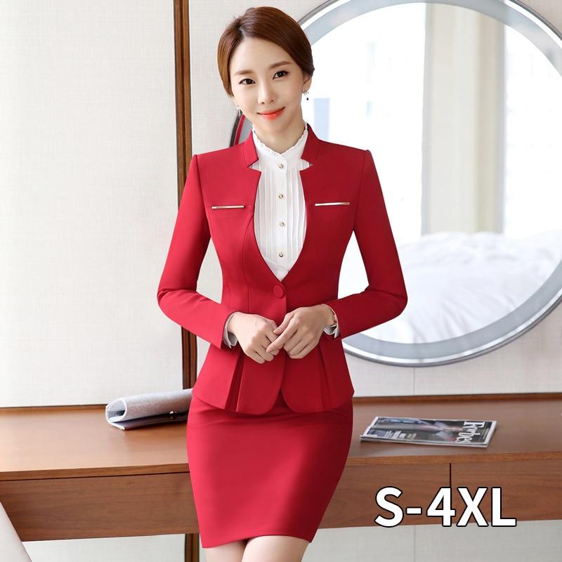 2020 Hot Sale Womens Formal Suits Female Uniform Elegant Business Pants Suits Women Workwear Office Pant Suits
