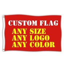 Custom Flags Banner Flag-Banner-Decoration Hanging Logo Advertising Printed Polyester