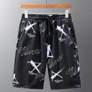 Летние шорты 10XL 9XL 8XL 7xl 6xl 5xl XXXXL размера плюс, мужские 2020 свободные пляжные шорты-бермуды с принтом, повседневные шорты с карманами