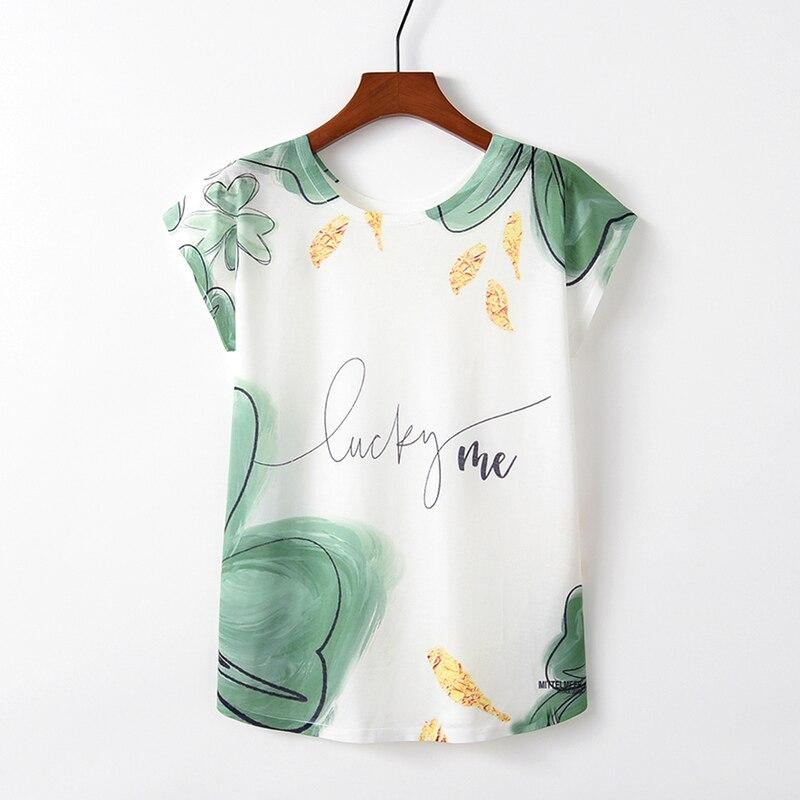 2019 New Summer Fashion Harajuku Printing T-shirt O-neck Short-sleeved Cotton Casual Loose T-shirt Women's Clothing