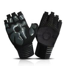 Спортивные перчатки для тренажерного зала женщин и мужчин дышащие