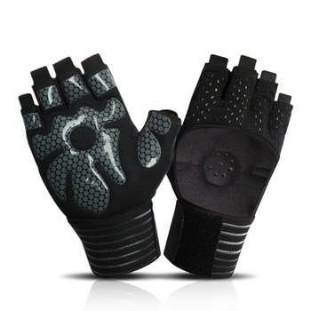 Sports Gym Gloves For Women Men Half Finger Breathable Exercise Women for man Fitness Weight-lifting Cycling Workout Gloves high quality sports gym gloves wrist weights fitness men gloves half finger breathable anti skid silica women gloves