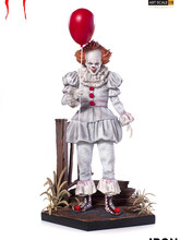 IT Joker Stephen King's Iron Studios PVC Action Figure Toy IT Pennywise Collection Figures Collectible Model Doll Christmas Gift(China)