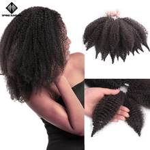 Spring sunshine 8'' Crochet Marley Braids Black Hair Soft Afro Twist Synthetic Braiding Hair Extensions For Black Woman(China)