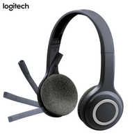 Original Logitech H600 Wireless Headset Offical Verification With Noise Canceling MIC Nano For Almost Platforms&Operating System