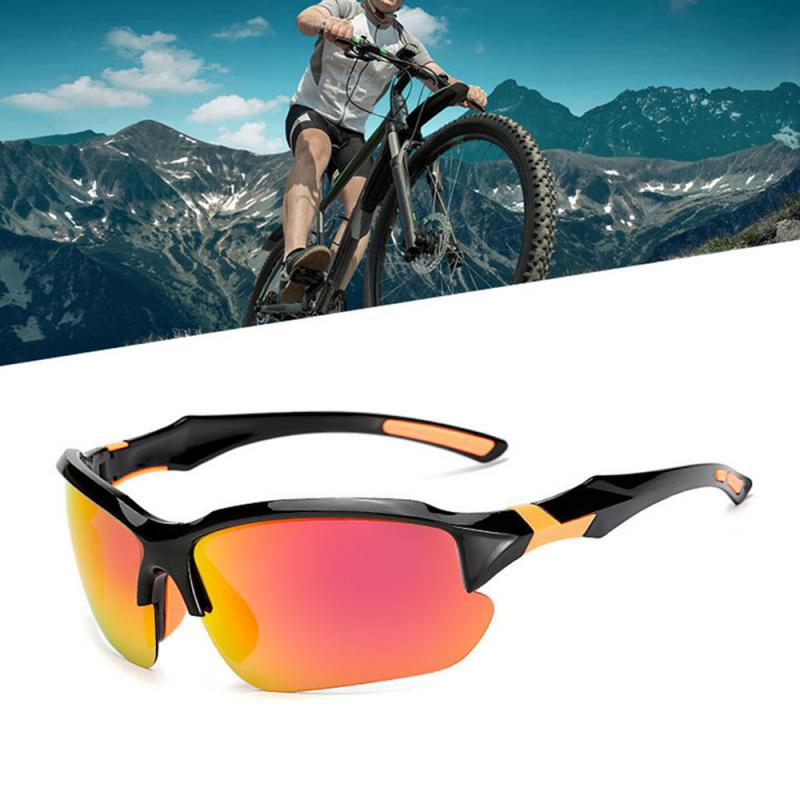 Men Sunglasses Outdoor Riding Sports Sunglasses Glasses Bike Windproof Sandproof Polarized Bicycle Goggles