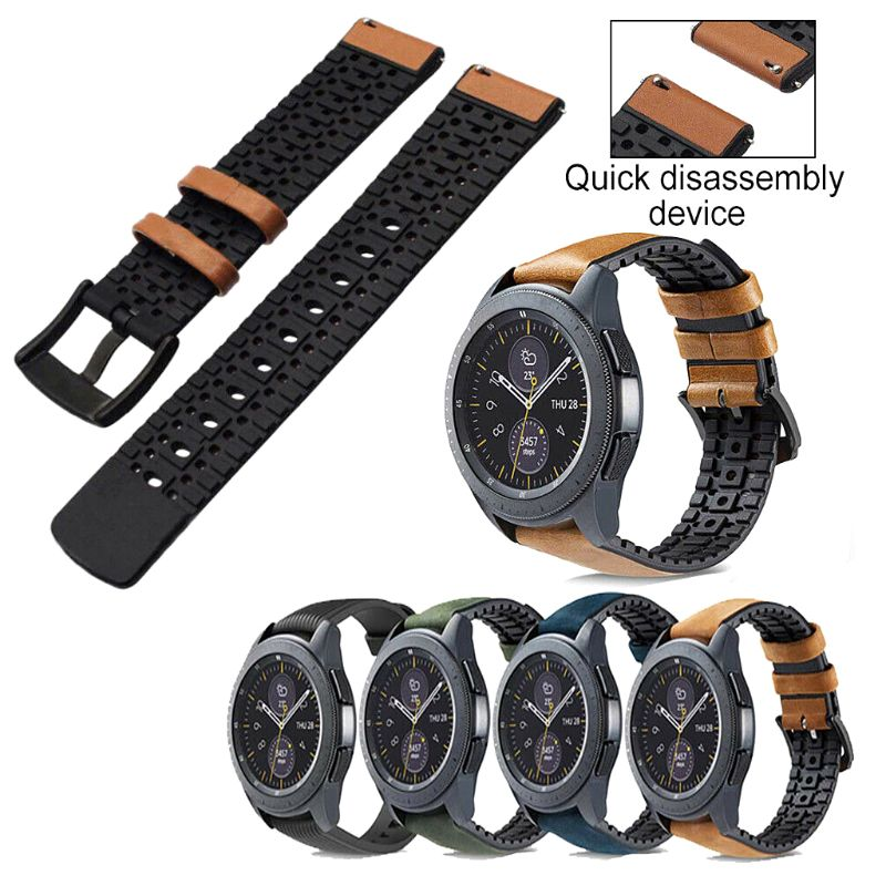 Watch Strap Quick Release Wristband Bracelet Replacement for Samsung Galaxy Watch 46mm/42mm for Samsung S3 Watch Accessories