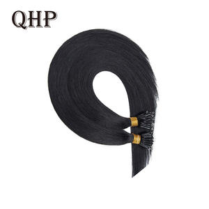 Hair-Extensions Machine Nano-Ring Indian-Hair Straight Remy-Pre-Bonded