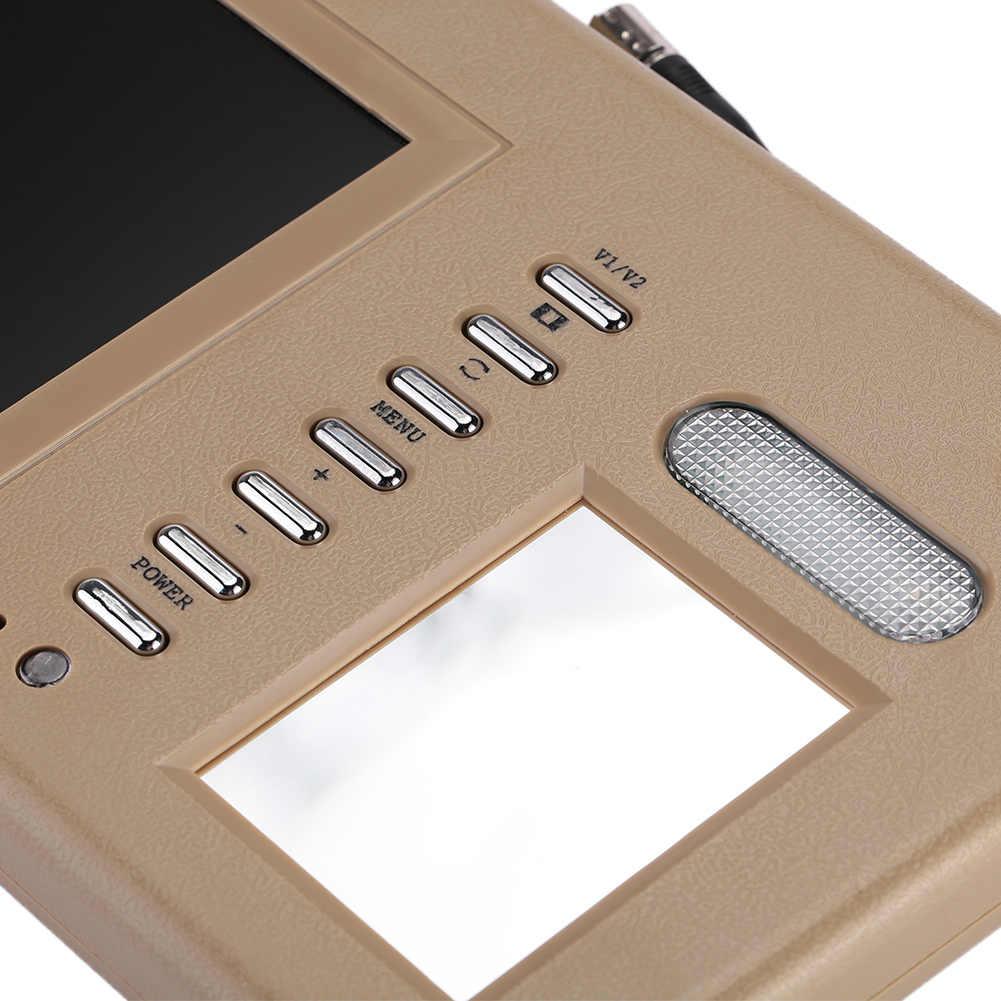 """حاجب الشمس الرؤية رصد سيارة الشمس قناع مراقب دائم مشغل أسطوانات للسيارة رصد اليسار أو اليمين PAL/NTSC 7 """"TFT LCD اللمس العالمي"""