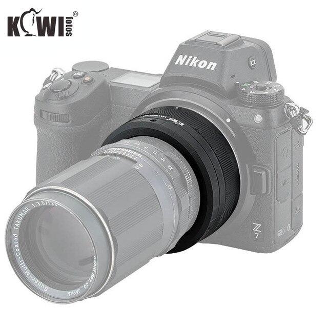 KIWIFOTOS LMA M42_NZ 69x34,3 мм объектив с ручным адаптером M42 крепление объективов для Nikon Z крепление корпуса Бесконечность фокус