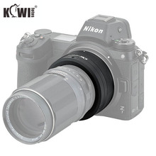 Kiwifotos LMA M42_NZ 69x34.3mm lente adaptador manual m42 montar lentes para nikon z montagem corpo foco infinito