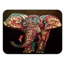 CHARMHOME мягкий ковер Противоскользящий ковер Африка Индийский Слон ковер для гостиной коврик для домашнего декора