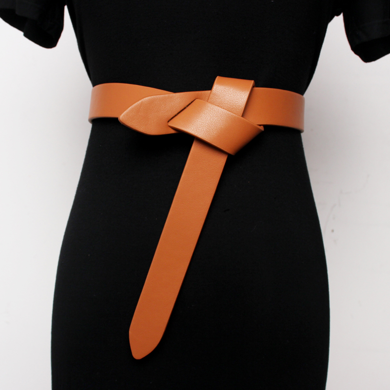 Pu Leather Mini-bag Split Joint Long Wide Belt Personality Women New Fashion Tide All-match Autumn Winter 2020