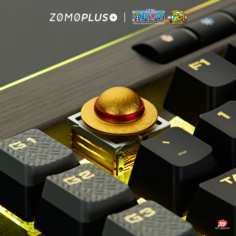 Personalized Keycap Metal Keycap Gold MX Switch ESC Keycap Aluminum Alloy