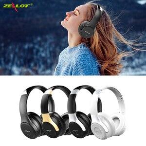 ZEALOT B26T V4.2 Dobrável Sem Fio Bluetooth Fone De Ouvido Estéreo Fones De Ouvido Sobre A Orelha Microfone Fone de Ouvido para computador, telefone