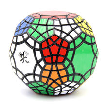 DaYan 30-axis 30-hedron Magic Cube New Gem Football Puzzle Cube for Collection Black Sticker(China)