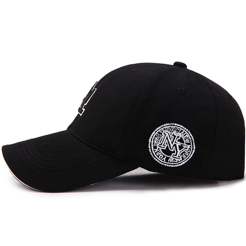 Berretto da Baseball Unisex lettera LA Snapback cappello in cotone Hip Hop cappelli estivi all'aperto per donna e berretti per uomo berretto casual regolabile 2