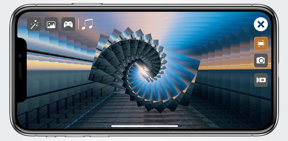 Nova Câmera Zangão 4K HD Dual Camera