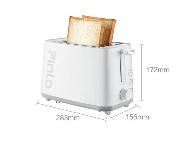 Xiaomi Pinlo Toaster Fast Heating Double-sided Double-slot Active Grill Defrosting Heating Dual Function For Smart Home 6