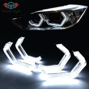 LED Angel Eyes Halo Rings Car