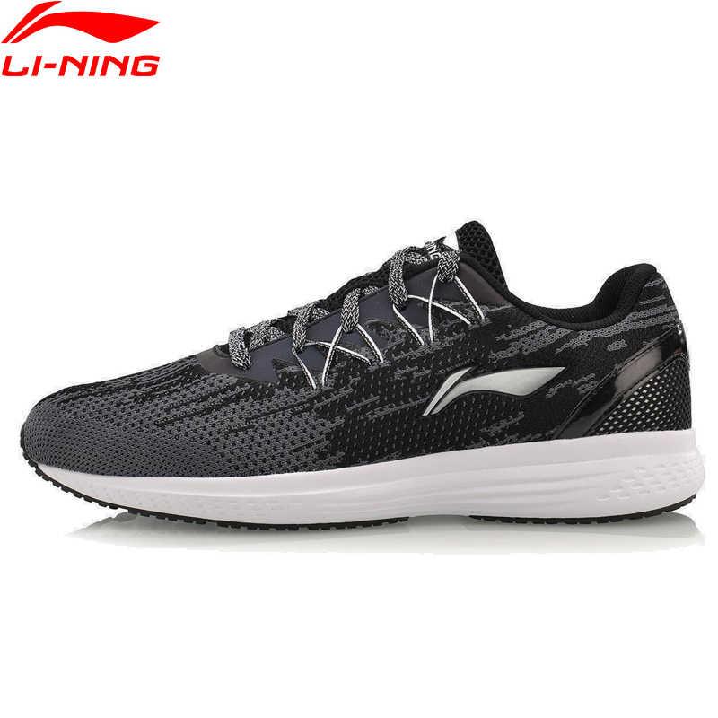 Li-Ning الرجال 2017 سرعة ستار وسادة احذية الجري تنفس النسيج أحذية رياضية خفيفة بطانة أحذية رياضية ARHM063 XYP467